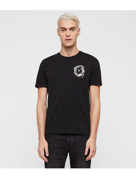 Rose Skull Crew T Shirt by Allsaints