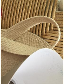 """Natural Cotton Webbing 