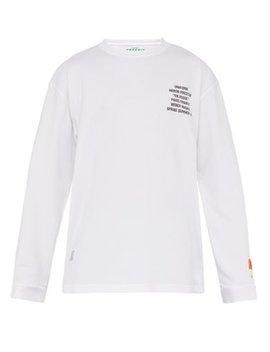 Worker Cotton Jersey T Shirt by Heron Preston