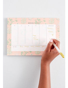 Fun In Functional Desk Planner by Paper Source