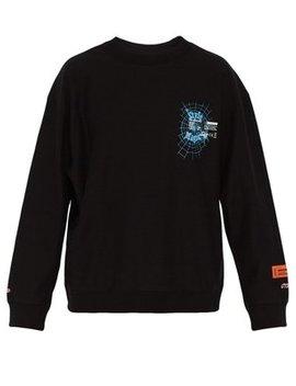 Magic Print Cotton Sweatshirt by Heron Preston