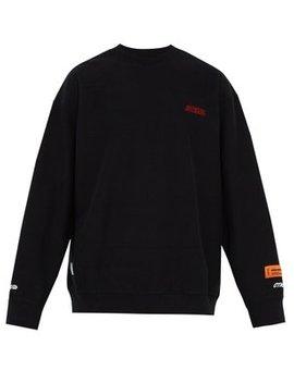 СТИЛЬ Cotton Jersey Sweatshirt by Heron Preston