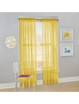No. 918 Calypso Sheer Single Curtain Panel by No. 918