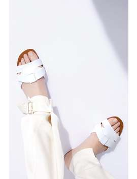 Leather Crossover Sandals Best Sellerswoman by Zara