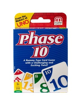 Phase 10 Card Game by Phase 10