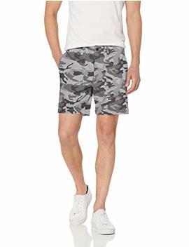 "Amazon Brand   Goodthreads Men's 7"" Inseam Porkchop Pocket Comfort Stretch Canvas Short by Goodthreads"