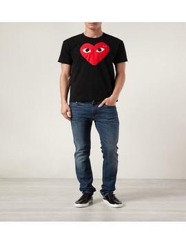 467262f309 Cdg Play Mens Women Designer T Shirt Commes Cotton Off Sport Tee Shirts Des  Garcons T