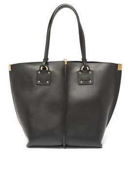 Vick Leather Tote Bag by Chloé