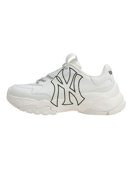 New Mlb Big Ball Chunky A Running Shoes Sneakers   New York Yankees(White) by Mlb