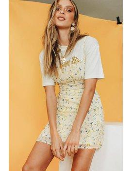 e551123cd440aa Shoptagr | Espoir Lace Up Anglaise Top // White by Vergegirl