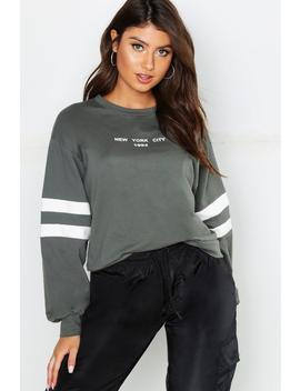 New York City 1994 Slogan Sweat by Boohoo