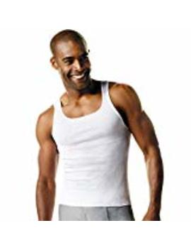 Hanes Men's Tagless&Reg; Comfort Soft&Reg; White A Shirt 6 Pack by Hanes