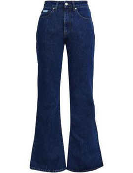 Konawa High Rise Flared Jeans by Alexachung