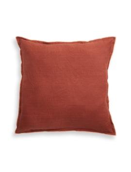 Slub Linen & Cotton Outdoor Pillow by Treasure & Bond