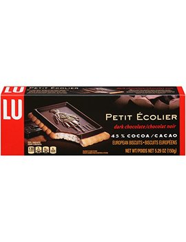 Le Petit Ecolier, The Little Schoolboy, Dark Chocolate, 5.29 Oz by Amazon