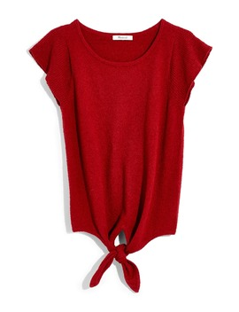 Marin Tie Front Sweater Tee by Madewell