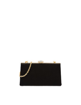 Satin Bag With Metal Shoulder Strap by Miu Miu