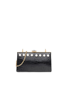 Miu Solitaire Crocodile Print Bag by Miu Miu