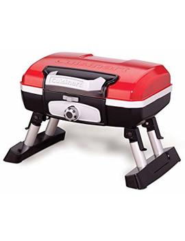Cuisinart Cgg 180 T Petit Gourmet Portable Tabletop Gas Grill, Red by Cuisinart