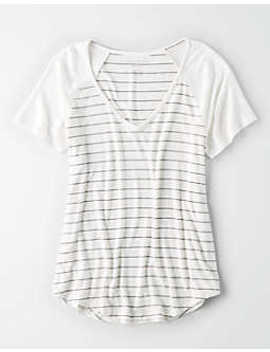 Ae Soft &Amp; Sexy Raglan Sleeve T Shirt by American Eagle Outfitters