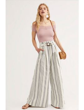 Hi Tyed Wide Leg Pants by Free People