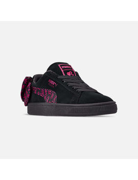 Women's Puma X Barbie Suede Classic Casual Shoes by Puma