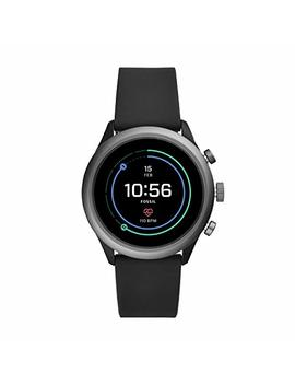 Fossil Men's Gen 4 Sport Metal And Silicone Touchscreen Smartwatch With Heart Rate, Gps, Nfc, And Smartphone Notifications by Fossil
