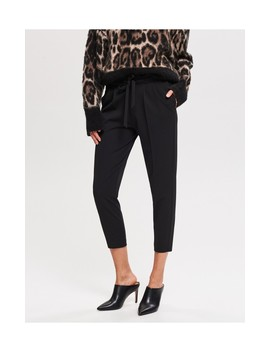 9bc6545961204 Shoptagr   Spodnie Z Wiązaniem by Reserved