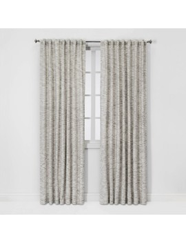 Striation Herringbone Light Filtering Curtain Panels   Project 62 by Project 62