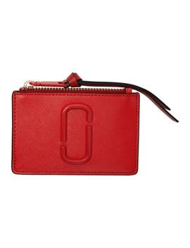 bd8ca5ddf245 Shoptagr | Red Snapshot Top Zip Multi Card Holder by Marc Jacobs