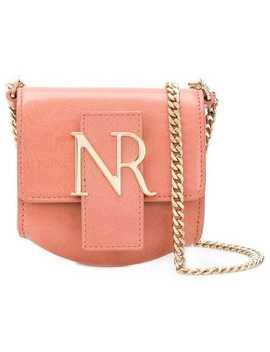 Logo Plaque Mini Shoulder Bag by Nina Ricci