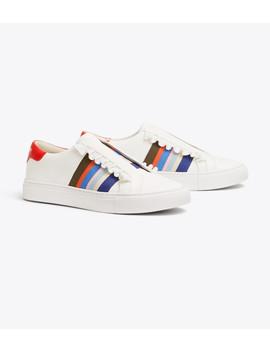 Tory Sport Slip On Ruffle Sneakers by Tory Burch