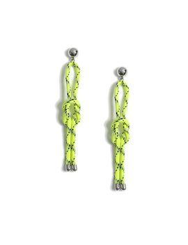 Loop Rope Drop Earrings by Topshop