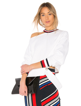 Tommy X Gigi Gigi Hadid Open Shoulder Ls Sweater by Tommy Hilfiger