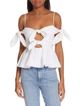 bow-&-peekaboo-detail-top by rebecca-taylor