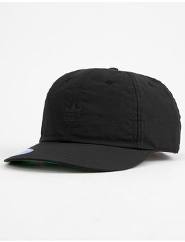 Adidas Originals Relaxed Repeat Black Mens Strapback Hat by Adidas