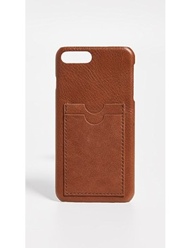 Leather Carryall Case For I Phone 6 / 7 / 8 Plus by Madewell
