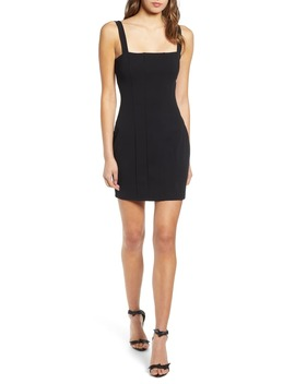 Seamed Body Con Dress by Leith