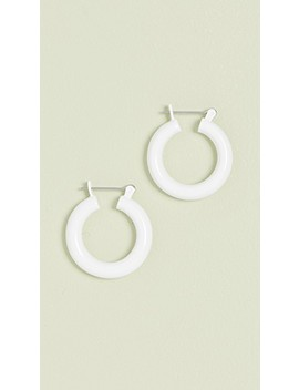 The Rainbow Baby Amalfi Hoop Earrings by Luv Aj