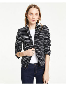The Petite Newbury Blazer In Ikat by Ann Taylor
