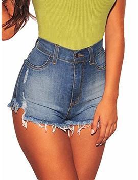govc-womens-high-waisted-jean-shorts-fray-hem-stretchy-denim-short-jeans by govc
