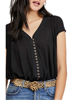 Highland Button Blouse by Free People