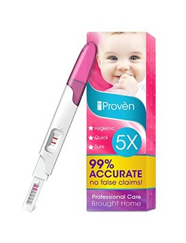 Pregnancy Test Early Detection   5 Pregnancy Tests   One Step Hcg Urine Pregnancy Test   Do It Yourself... by I Provèn