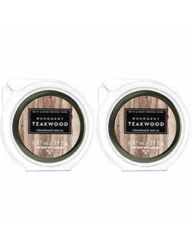 White Barn 2 Pack Mahogany Teakwood Fragrance Melt. 0.97 Oz / 27.5 G by Amazon