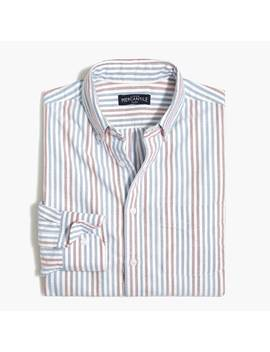 Slim Flex Oxford Shirt In Stripe by J.Crew