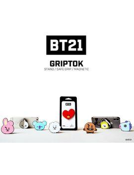Official Kpop Bts Bt21 Grip Tok Bangtanboys Pop Up Holder by Ebay Seller
