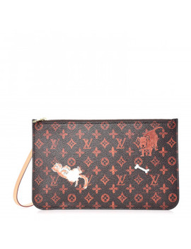 Louis Vuitton Transformed Monogram Grace Coddington Catogram Neverfull Mm Gm Pochette Marron by Louis Vuitton