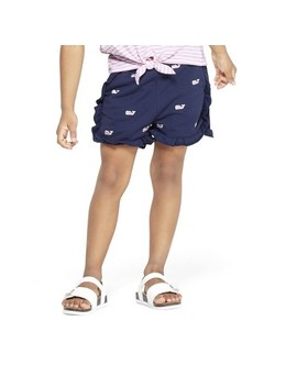 Toddler Girls' Embroidered Whale Shorts   Navy   Vineyard Vines® For Target by Navy
