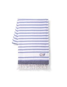 Striped Throw Blanket   Blue/White   Vineyard Vines® For Target by Blue/White