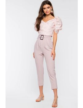 Adriana Belted Pant by A'gaci